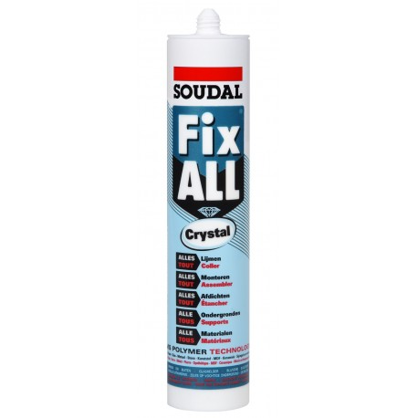 Soudal Fix ALL Crystal SMX Polymer 290ml Soudal