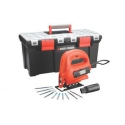 SEGHETTO ALTERNATIVO 520W IN VALIGIA + 10 ACCESSORI BLACK&DECKER