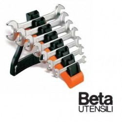 SERIE 7 CHIAVI BETA 55/SP7 a forchetta doppie, con supporto