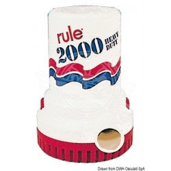 Pompa RULE 2000 ad immersione 12V