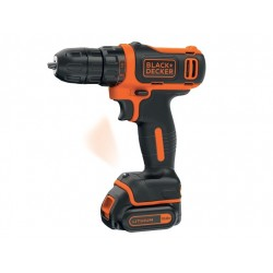 Trapano/Avvitatore 10.8V Litio in valigetta B&D BDCDD12K Black & Decker