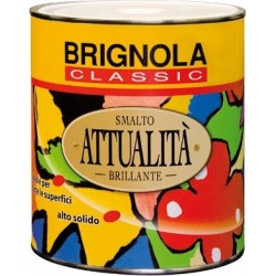 ATTUALITA' Brignola Smalto brillante per esterni altosolido 750ml