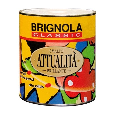 Brignola Smalto brillante per esterni altosolido ATTUALITA' 750ml