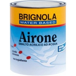 AIRONE Brignola smalto all'acqua satinato