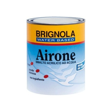 AIRONE Brignola smalto all'acqua satinato  Brignola