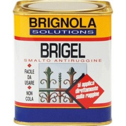 BRIGEL Brignola smalto completo di antiruggine 750ml