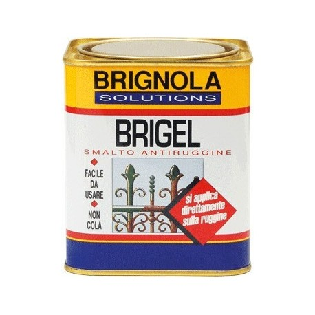 BRIGEL Brignola smalto completo di antiruggine 750ml Brignola