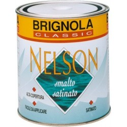 NELSON Brignola Smalto satinato per esterni altosolido 750ml