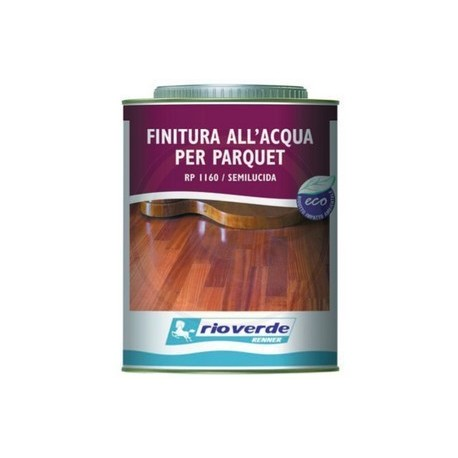 Finitura all'acqua per parquet Renner 750 ml Renner