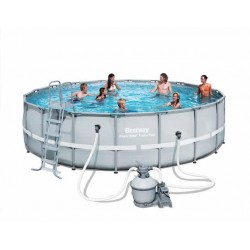 "PISCINA RIGIDA BESTWAY ""POWER STEEL FRAME"""