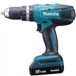 MAKITA TRAPANO C/2 BATTERIE 18VP-LI HP457DWE
