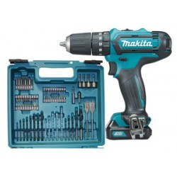 MAKITA SUPERKIT 10,8VP-2AH-LI HP331DSAX1 2 BATTERIE