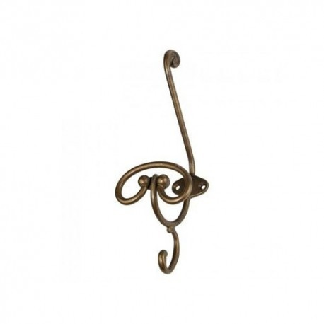 Appendiabito in ottone Metal Style Metal Style