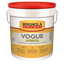 Brignola idropittura superlavabile acrilica per interni VOGUE