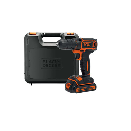 TRAPANO B+D 18V-1,5AH LITIO BDCDC18K Black & Decker