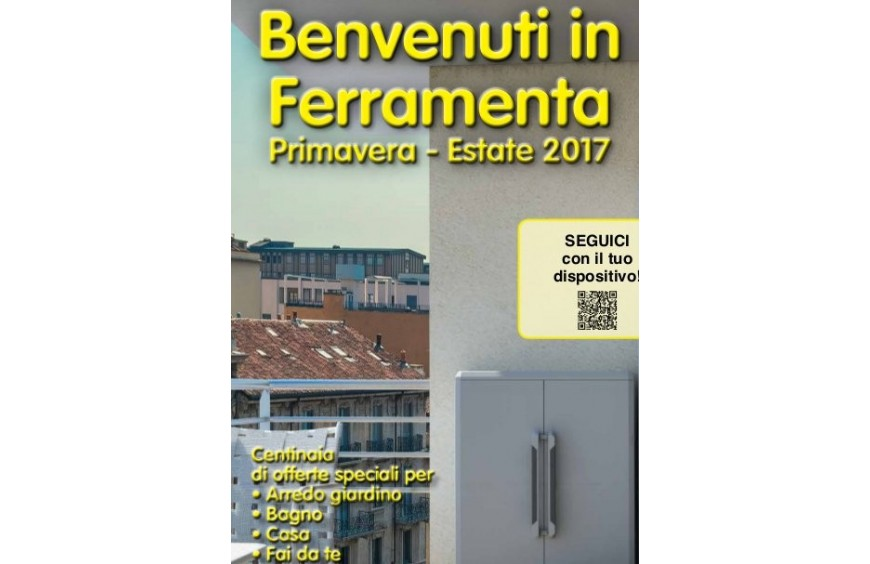 BENVENUTI IN FERRAMENTA ESTATE 2017
